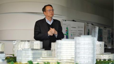 人在浦东|外高桥集团董事长刘宏:从芦苇荡到国际社区 打造浦东的百年老店