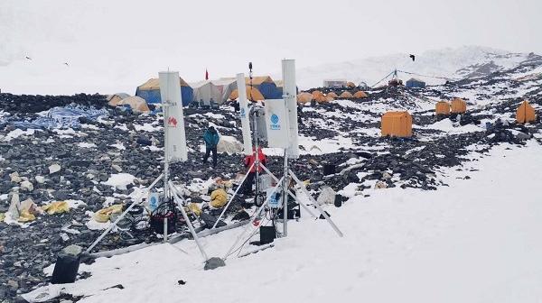 中国移动联合华为首次实现5G覆盖珠峰峰顶