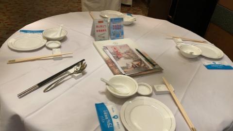 今日焦点丨申城有了新食尚!公筷公勺流行分餐模式走俏