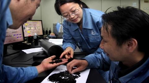 上海石化高密度聚乙烯黑料实现技术突破