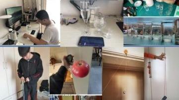 老师云端指导 学生在家自建实验室 上海电力大学学生为上物理课拼了!