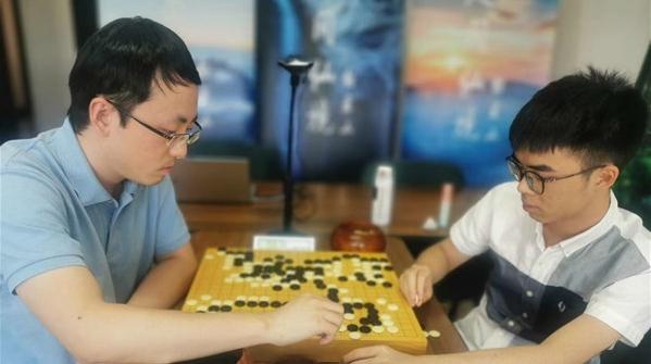 中国棋圣战16强战第八场:时越战胜李维清晋级八强