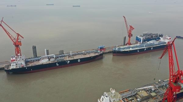 江南造船两船命名并交付年内第5艘船