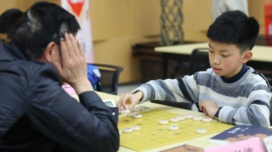 长寿杯象棋赛明线上开赛