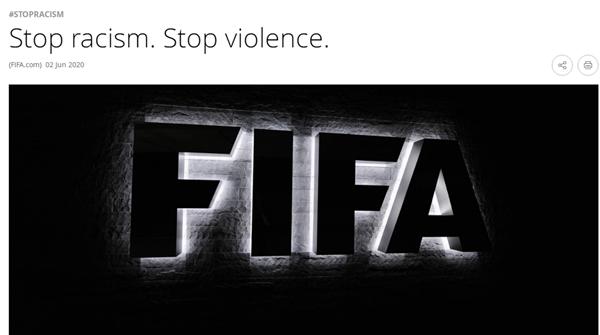 向种族歧视说不!国际体育组织纷纷发声,还有体育明星这样做→