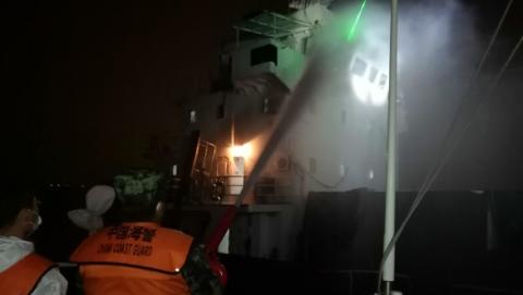雷霆出击!上海海警局成功查获走私集装箱40个 抓获嫌疑人8人
