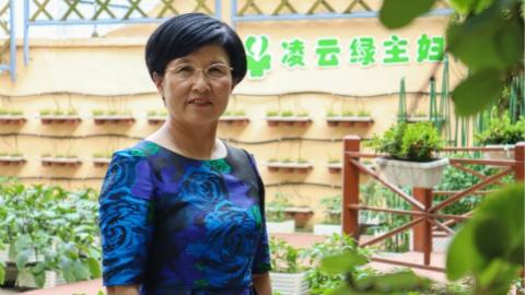"""阿拉身边的代表丨尚艳华:做好""""绿主妇"""" 就是人生中最大快乐"""