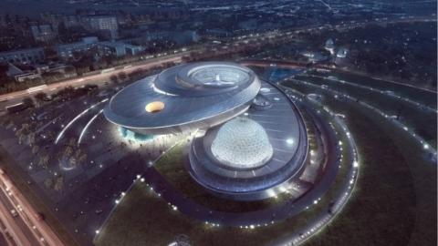 上海天文馆通过竣工综合验收