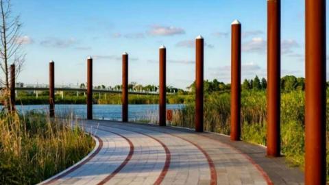 城市馨细节|沿湖刷圈、集市逛吃 滴水湖也能玩出新花样!