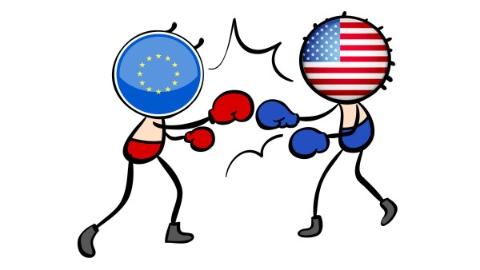 31亿美元产品关税引爆美欧贸易战 预计欧盟将对美国进行针锋相对报复