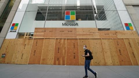 永久关闭实体店 微软零售转到线上