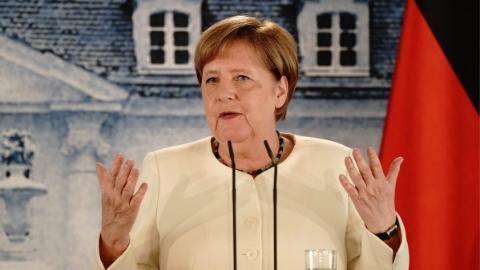 英欧谈判进展有限 默克尔:为无法达成协议做准备