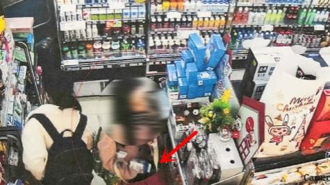 白领贪小频频在便利店盗窃食品饮料   总价值300多元仍被判刑
