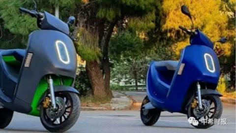 可通过手机激活,首部希腊制造智能电动摩托车即将面世