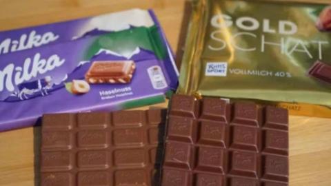 """两款巧克力为了""""外形做成什么形状"""",在德国法庭拉锯十年"""