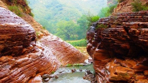 八百里太行奇观——邢台大峡谷