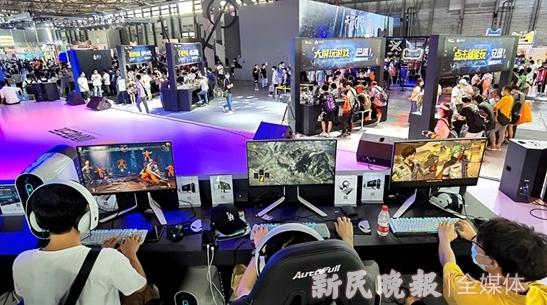 """云游戏赛道怎能缺了上海身影?ChinaJoy里的""""上海出品""""有情怀更有格局"""