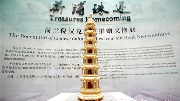 捐赠祖传文物回流中国,上博办展感恩荷兰收藏家义举
