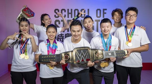 WWE携手国际特奥东亚区打造《特奥力量学院》体能健康训练营亚洲版