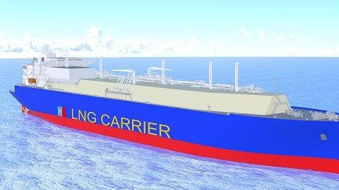 沪东中华开建全球最大浅水航道第四代LNG船