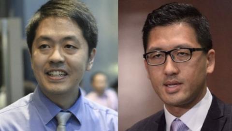 香港警方:反对派立法会议员林卓廷及许智峯等16人被拘捕