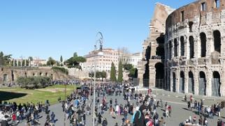 旅游业复苏!罗马景区大排长龙