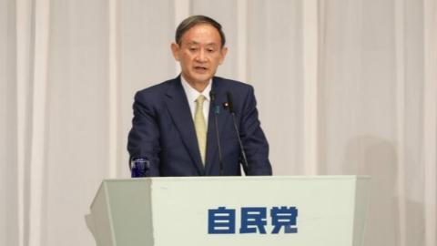 """掌舵""""后安倍时代"""",菅义伟稳了?自民党举行总裁选举 新首相或马上解散国会"""
