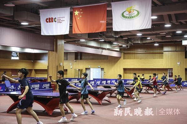 中国乒乓球学院训练馆-李铭珅.JPG