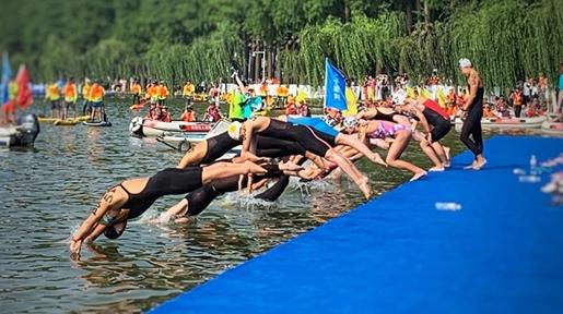 向英雄致敬为城市喝彩 2020武汉水上马拉松十一假期启动