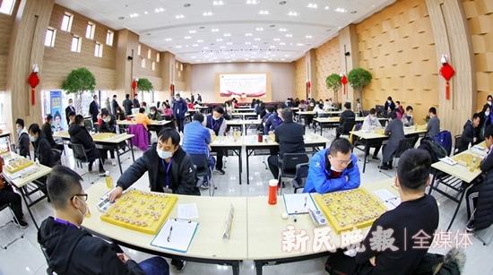 2020全国象棋个人锦标赛落子 百余名高手逐鹿楚河汉界