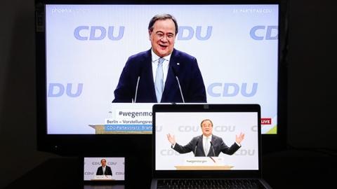 """谁是那个让整个德国屏住呼吸的男人?默克尔""""铁粉""""拉舍特当选德执政党主席"""