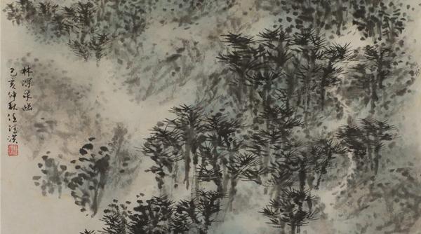 任德洪:丘壑在笔下更在心中