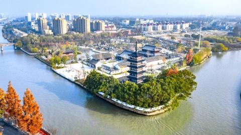 """新格局 未来城丨青浦新城:""""生态智能""""产业聚 未来之城环水立"""