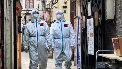 上海迅速控制疫情背后的民警们,圈内圈外守住安全防线