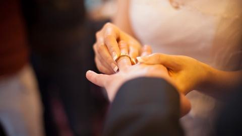 十月结婚季,证婚在路上