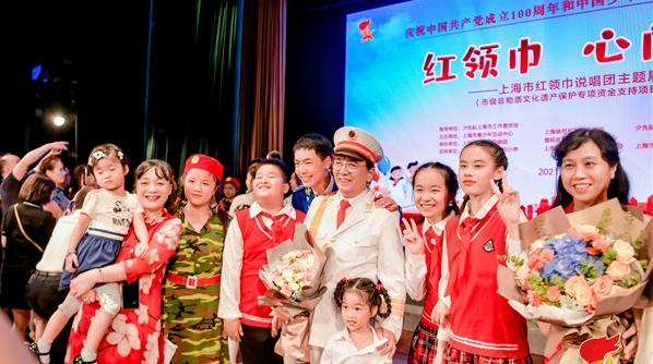 """从""""红领巾""""到""""青春说唱团"""",徐世利要把非遗上海说唱传承下去"""