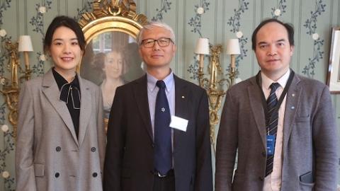 诺奖评委、瑞典皇家科学院陈德亮院士:中国的发展很快,很鼓舞人心