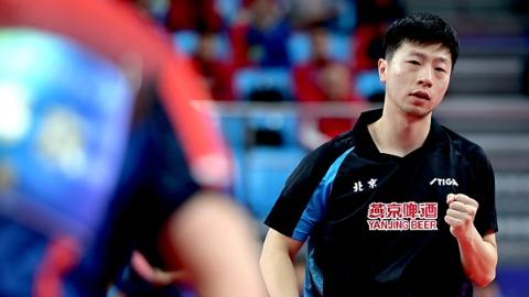 梁靖崑获本届乒超男子MVP,但保持不败战绩的依然是马龙