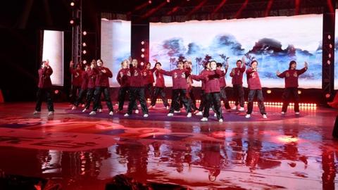 2021年上海市首届大学生街舞大赛展演昨天举行
