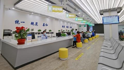 松江这个行政服务中心升级!办事更方便,还有AI讲解员