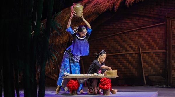 海南风情席卷申城舞台,《黎族家园》展开一幅非遗传承的音舞长卷