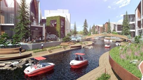 太仓阿尔卑斯国际度假区有望于2023年10月开门迎客