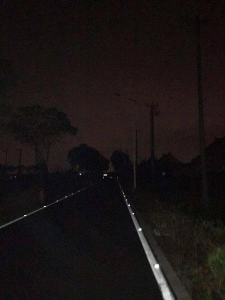 """黑黑黑夜太黑!3个月了2公里长沪上这条道""""夜惊魂""""!"""