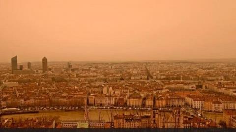 撒哈拉沙尘暴席卷欧洲,带回61年前放射性物质