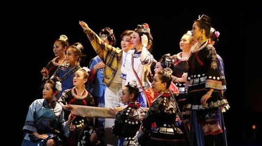跨越山海唱出扶贫情深 上海越剧院新作从国家大剧院开启全国巡演
