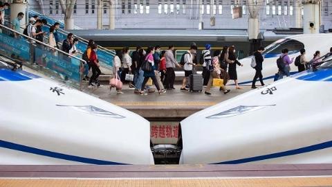 长三角铁路4月3日创疫情以来单日客发量新高 上海发送旅客量最大的居然是这个站……