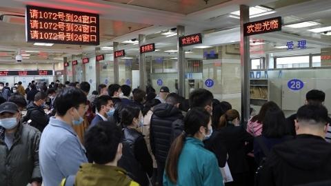 立等可取!上海购房者跑一次、一小时内领产证