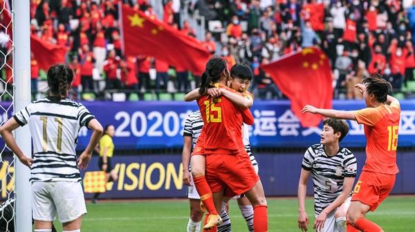"""一位现场球迷的观赛感受:""""中国女足,真的太不容易!"""""""