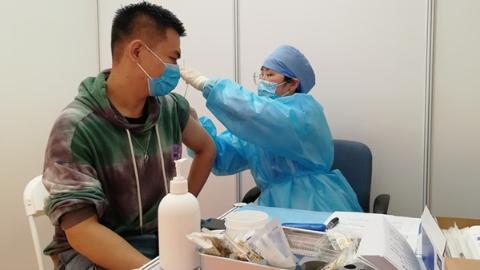区校合作新冠疫苗接种进复旦 预计杨浦辖区高校接种人数将逾4.7万