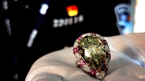 上海海关破获走私进口钻石案,案值超4000万元